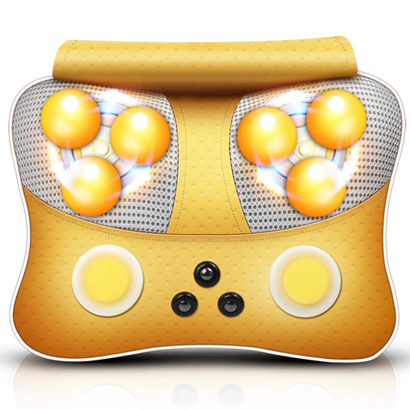 Massager do corpo elétrico de massagem travesseiro cervical, ombro almofada multifuncional para USO Na cintura NAS Costas