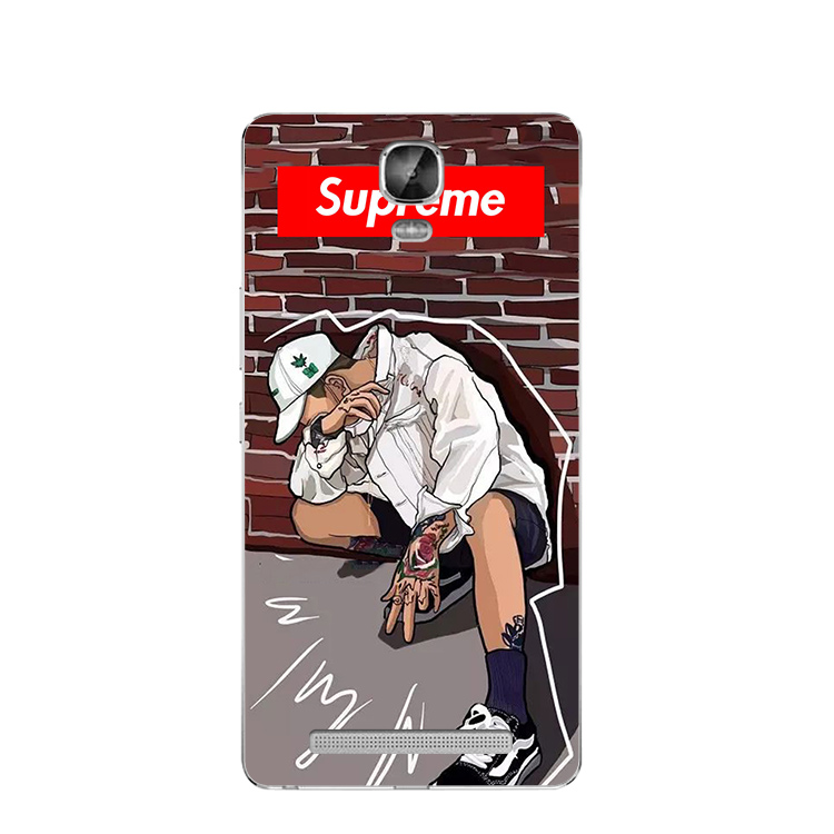 European and American hip-hop tide brand supreme Jin M5plus mobile phone shell M6plus silicone protective sleeve wrapping
