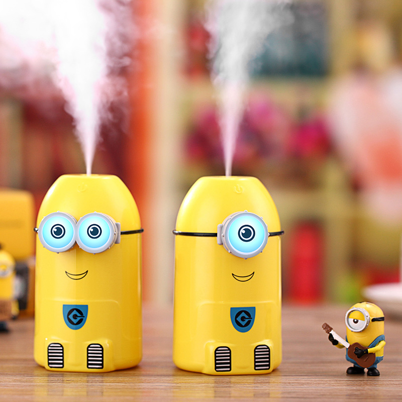 Bedroom humidifier home aromatherapy large capacity office air humidifier mute Mini air-conditioner room cartoon