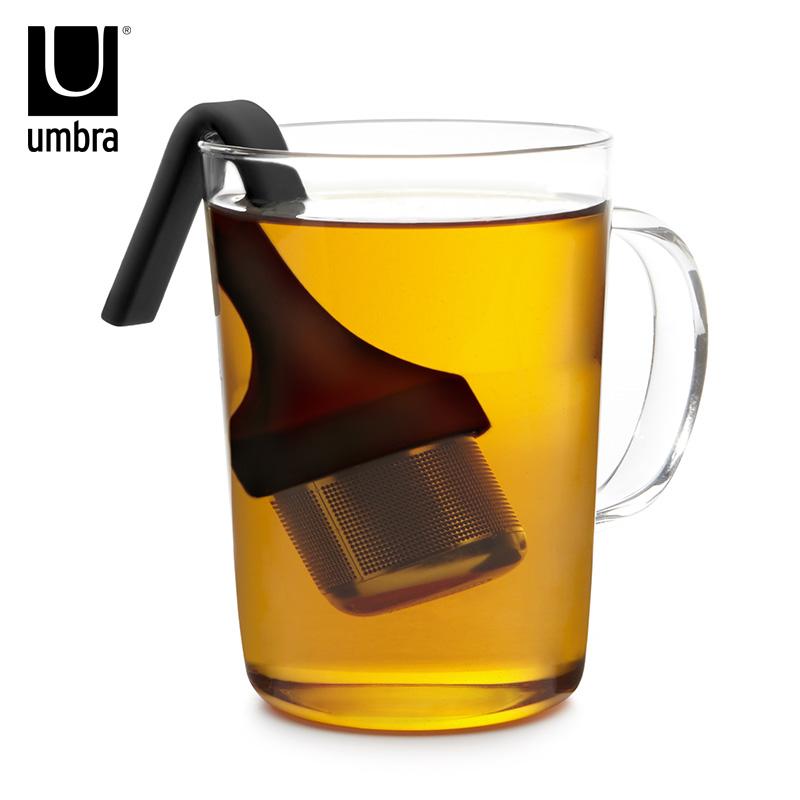 La personalidad creativa Umbra té té té 茶漏 filtro filtro de acero inoxidable de regalos 茶漏 marco