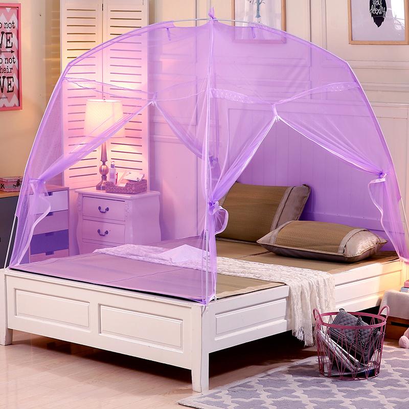 Los fabricantes de mosquiteros de cama litera yurts de 1 metro de 1.21.31.51.8m sin instalar el dormitorio