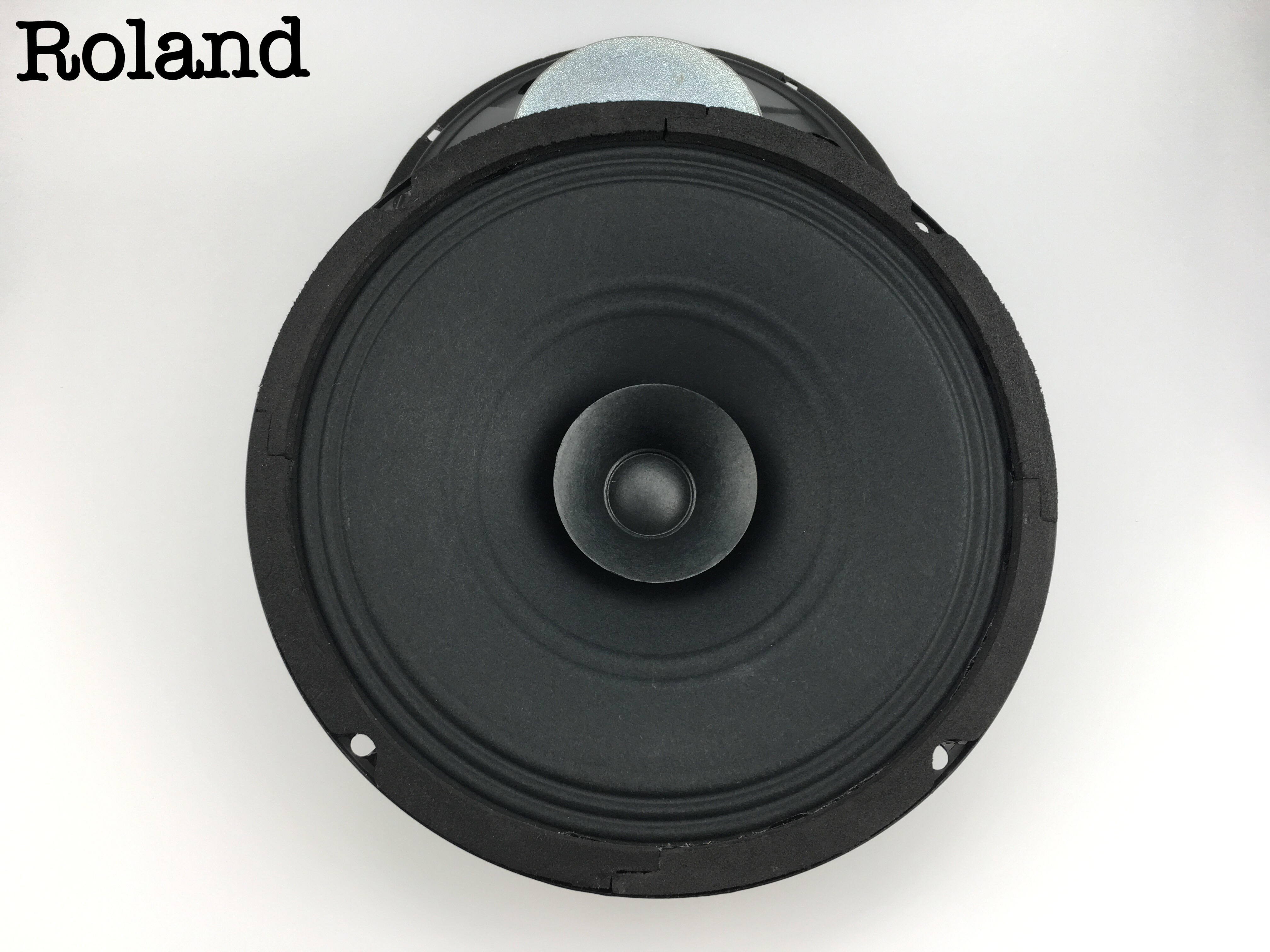 Disassemble the original Roland 8 inches full frequency voice horn loudspeaker electric guitar, guitar and other instruments voice horn