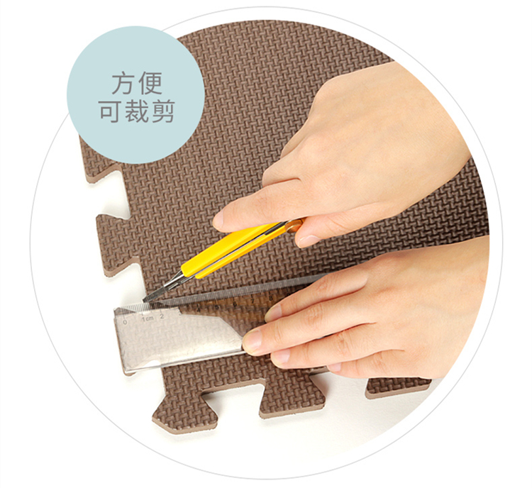 Children's Puzzle Foam pad tatami mats lovely bedroom home game blanket crawling pad rental quarters