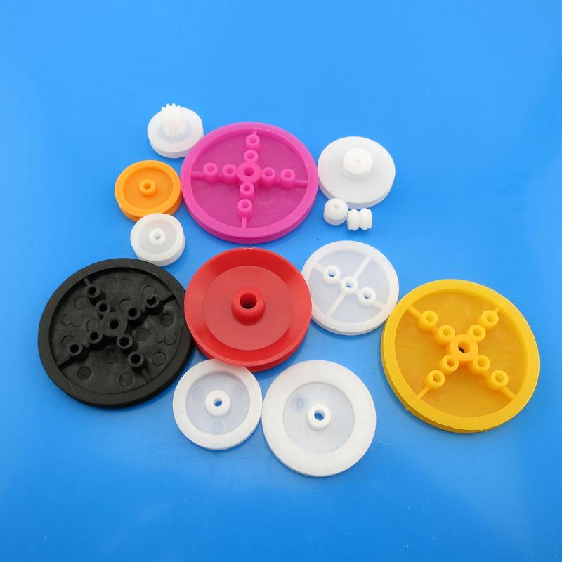 пластмасови колан на група (13) diy technology ръчно играчки за възрастни модел колело от макара.