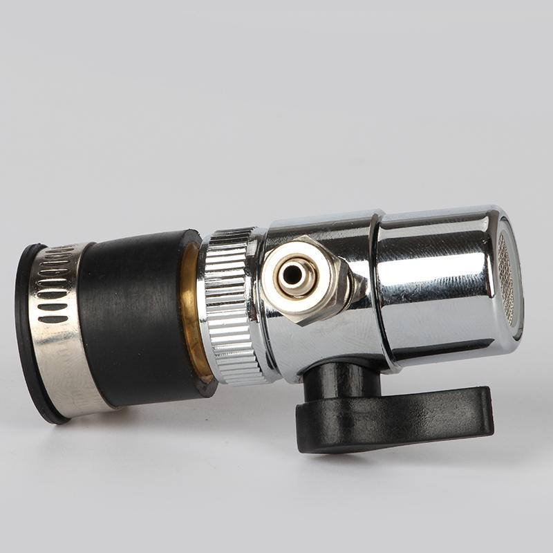 浄水器の蛇口の蛇口の2分の1の弁+ゴムの頭の切替の弁の3つの転換する弁の浄水器のバルブ
