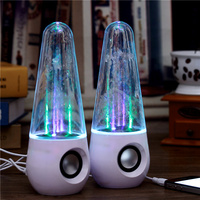 Waterdance audio mobile phone notebook computer desktop colorful light spray mini speaker subwoofer