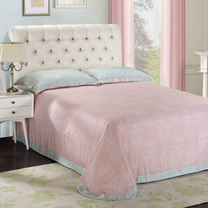 Genuine brands imported 60S double-sided Tencel four piece 100% pure Tencel high-end bedding