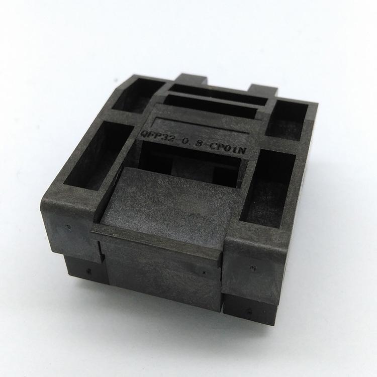 QFP32 - schegge di Test Sede Sede Sede IC51-0324-805 bruciare tra produttori di programmazione di 0,8