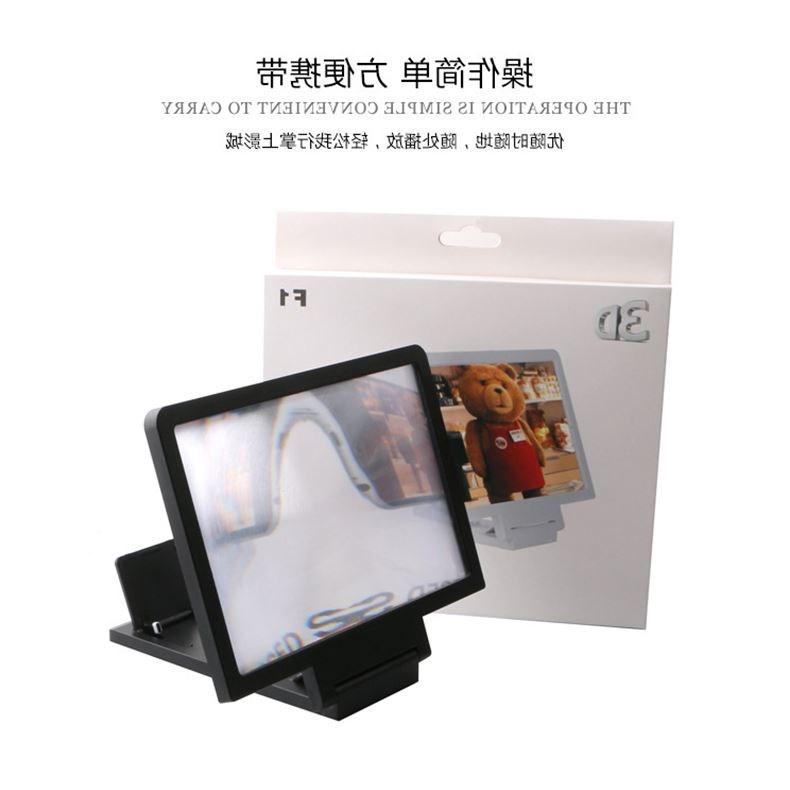El teléfono móvil de pantalla lente universal de amplificador de vídeo HD 3D un androide con altavoces.