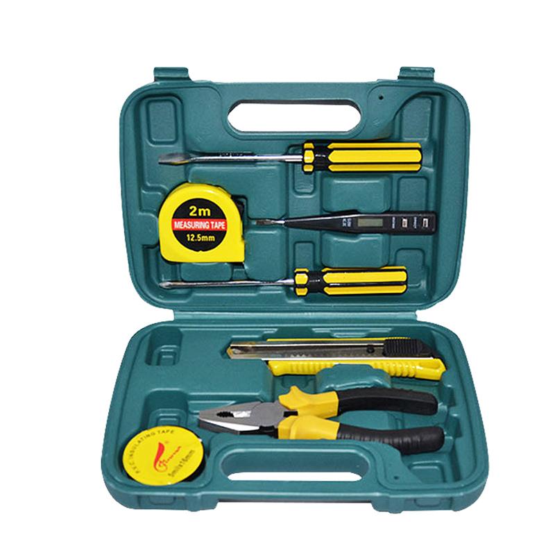 Forza con la riparazione d'Oro ma la combinazione di strumenti Multi - funzione di manutenzione Manuale completo del Pacchetto di elettricista e Garage di 8 Pezzi