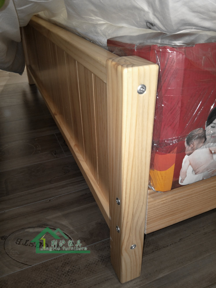 New Zealand pine furniture, children's furniture, solid wood furniture, environmental protection furniture, double bed, adult bed