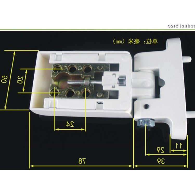 2017 zinc alloy hinge doors and windows thickened plastic steel casement window conch fittings loose leaf pure copper industry broken bridge hinge