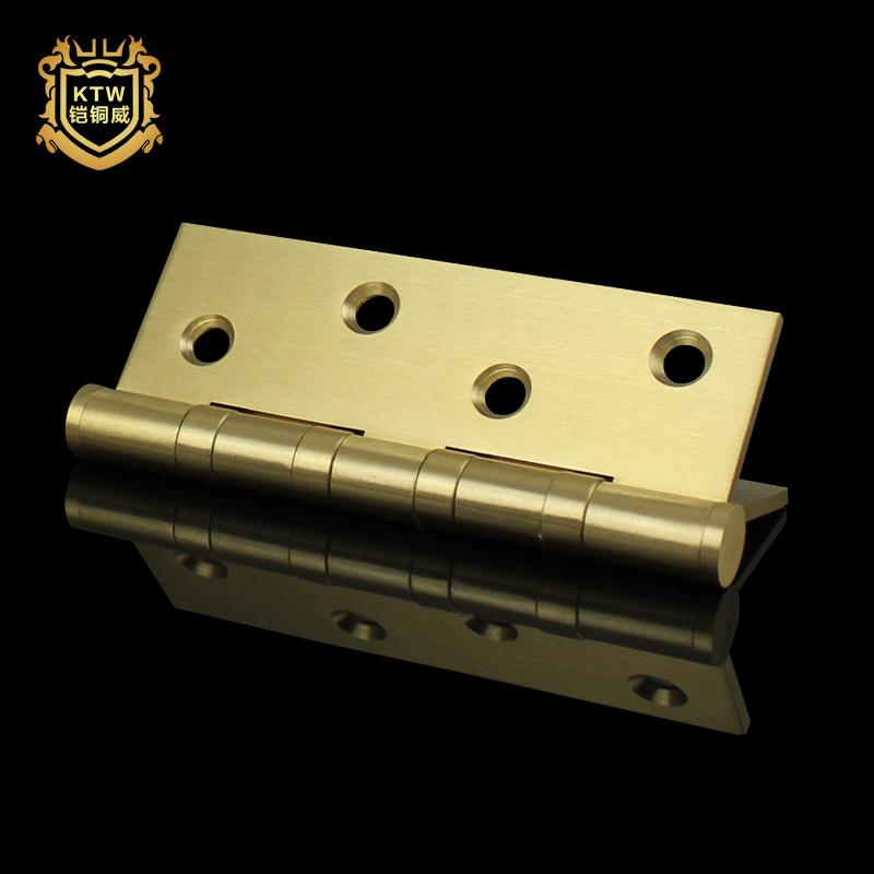 Ein Reines Kupfer Kupfer auf ein 4 - Zoll - scharnier Tür türen verdickt und 1 tablette