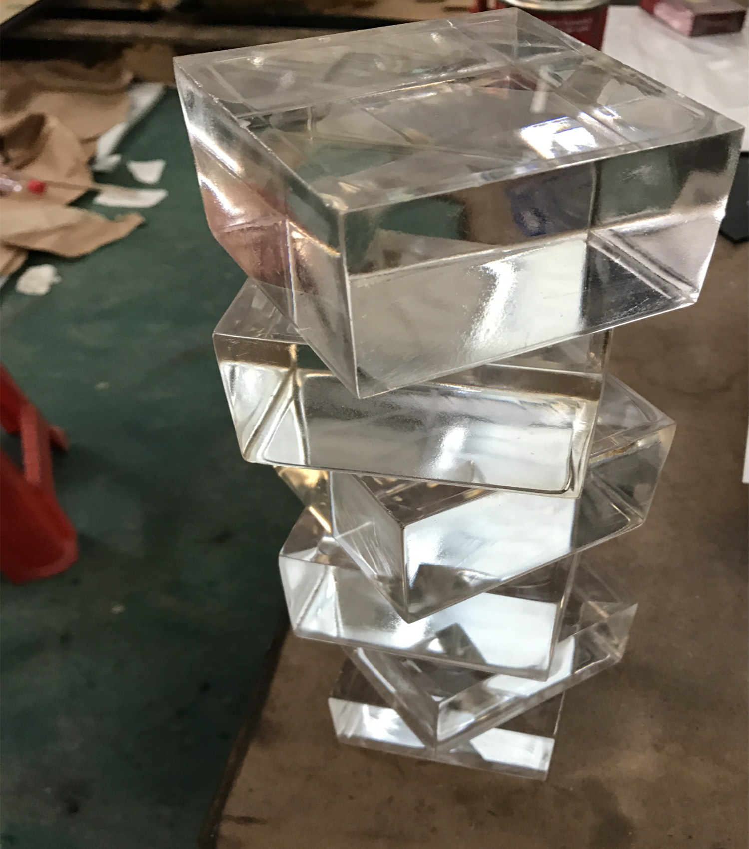 แผ่นอะคริลิคใสแผ่นฝ้าแผ่นแก้วอินทรีย์ที่กำหนดเองขนาดใดๆโดยตรงจากโรงงานแปรรูป