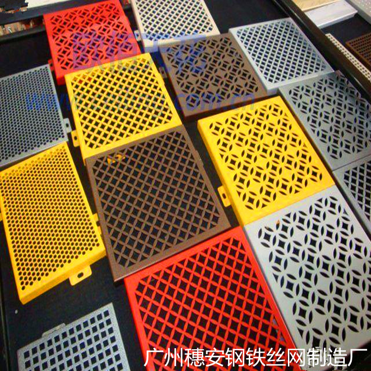 The direct selling 316 GB stainless steel mesh flower plate galvanized perforation hole plate porous plate net net