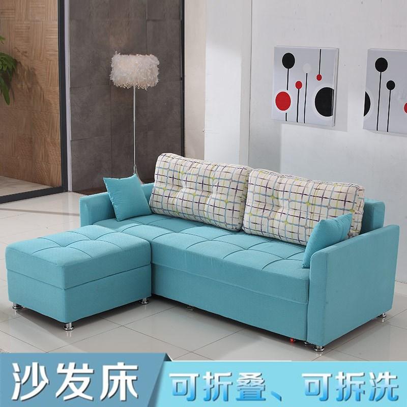 καναπέ, καναπέ κρεβάτι γωνία σαλόνι πολυλειτουργική 1,8 m μικρές μονάδες αποθήκευσης μπορεί να πτυσσόμενο καναπέ απλό σύγχρονη