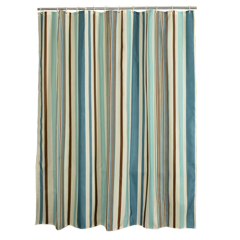 European polyester bath curtain thickening, waterproof and mildew proof cloth, bathroom partition curtain, curtain bathroom, shower curtain curtain