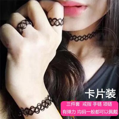 trifoi inelul lui rose din onyx 18 cu o claviculă alb crustacee roşii brăţară lanțului