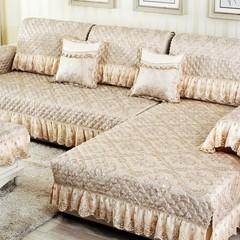 欧式棉麻沙发垫布艺坐垫防滑垫四季通用沙发防滑坐垫套巾罩可定制