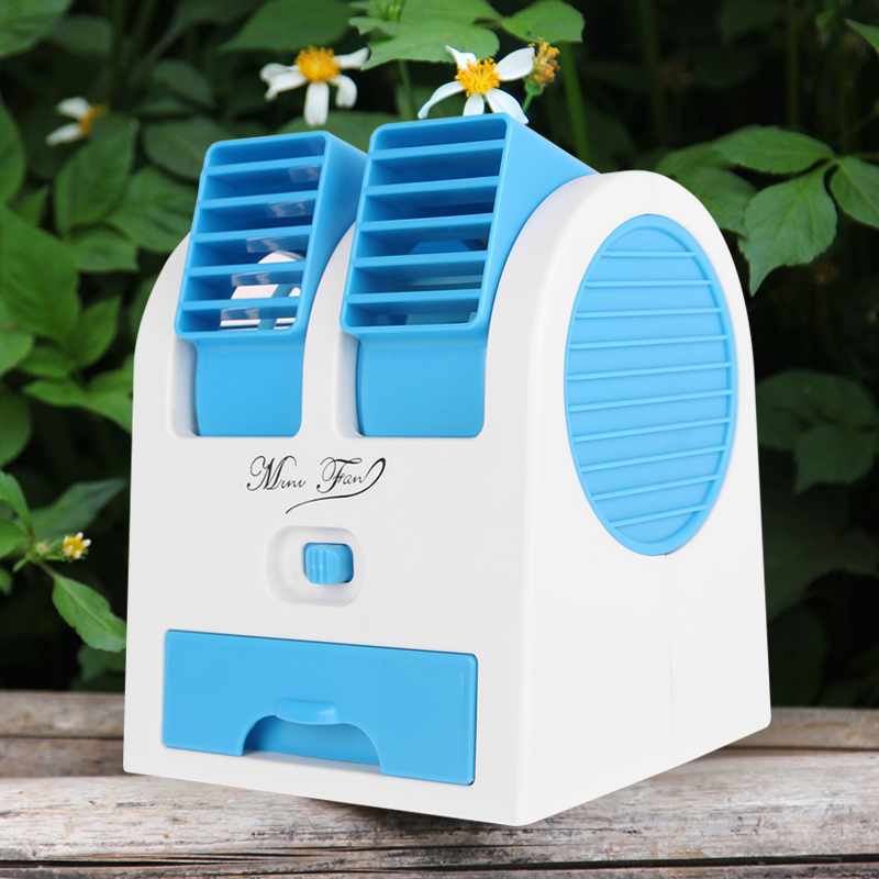 Summer dormitory cooling artifact, small air conditioner, rechargeable refrigerator, electric fan, mini student portable multifunctional