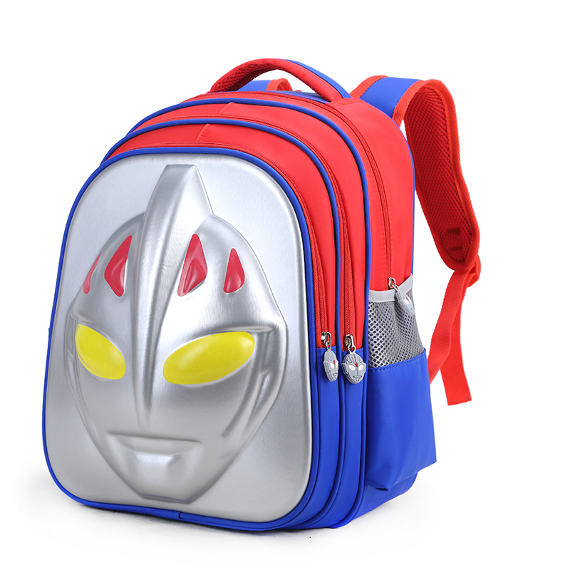 3D Altman schoolbag, primary school boy, 6-12 years old, first grade boy in kindergarten