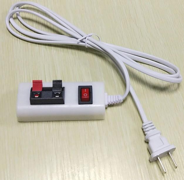ร้านโคมไฟขยายโคมไฟตัดยาวพยายามควบคุมปุ่มเพื่อสลับสายไฟเรืองแสงความปลอดภัยความสะดวกในการทดสอบการแปล
