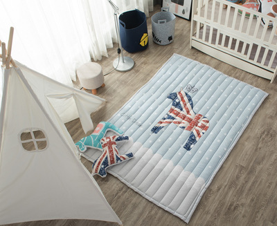ins棉质韩国爆款玩具地垫方形郊游儿童爬爬垫游戏垫搭配帐篷更好