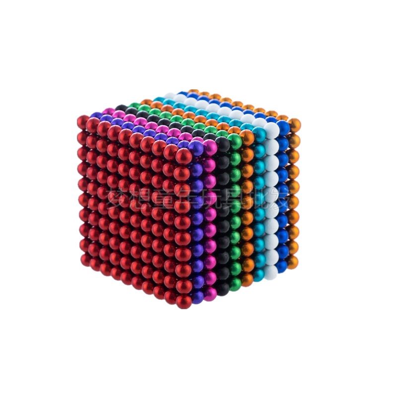 Buckyballs 1000 5mm suction ball 216 round magnetic ball large decompression adult children's educational toys