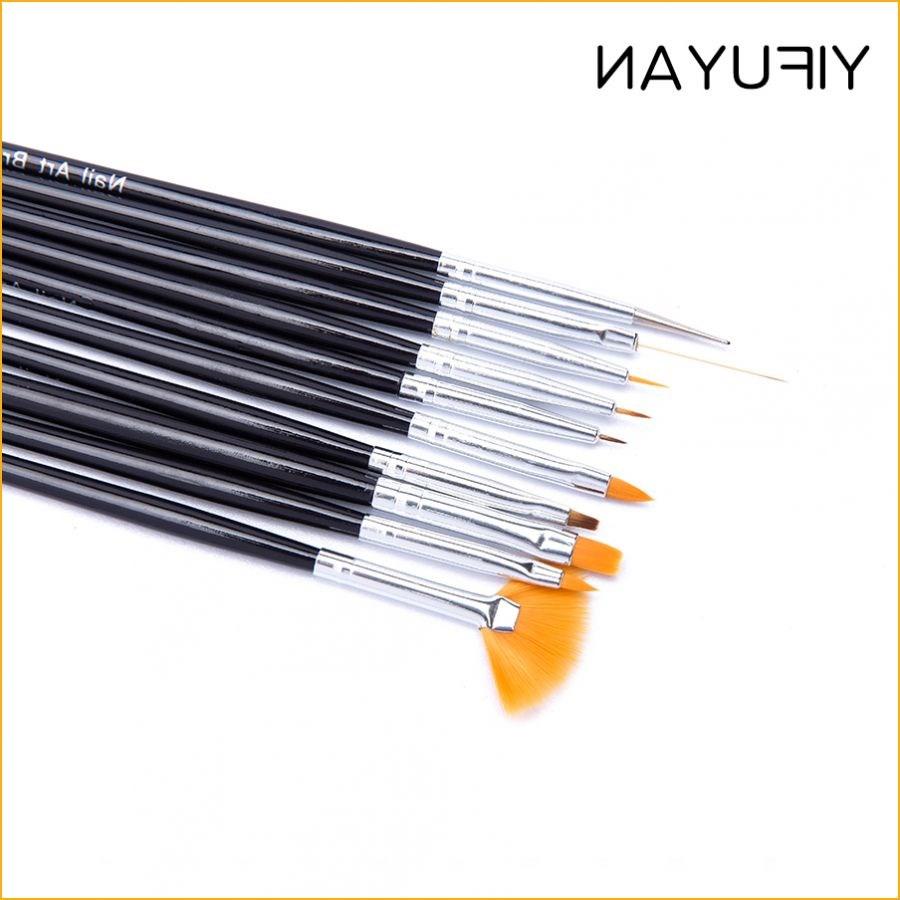 Manicure kit pen 10 pack nail brush brush pen full set shipping phototherapy