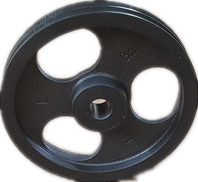 鋳鉄のベルト車の三角帯はABCタイプのタイプのタイプのタイプで、4槽4溝6溝7槽ベルト車