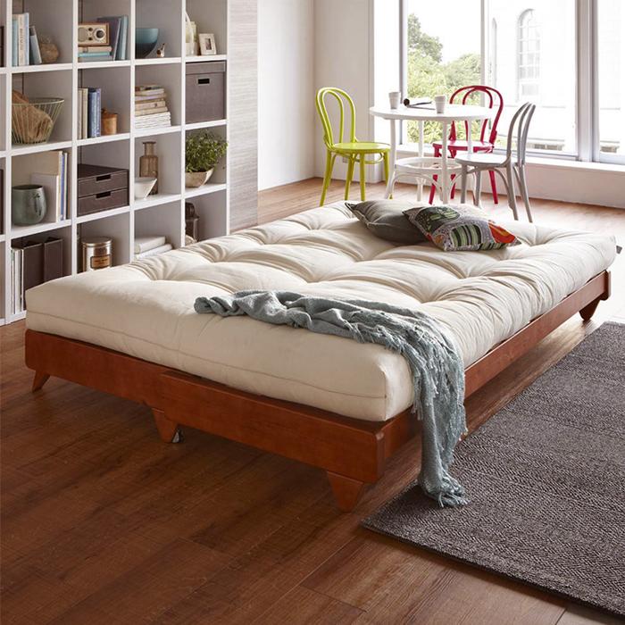 μασίφ ξύλο ανακληνώμενα καναπέ - κρεβάτι πτυσσόμενο καναπέ κρεβάτι να μπορούν να πλένονται πολυλειτουργική απλό το μικρό μέγεθος της σύγχρονης