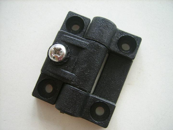 Retardante de fogo de plástico POM POM de amortecimento amortecimento dobradiça armário elétrico não CL272-1 nylon dobradiça