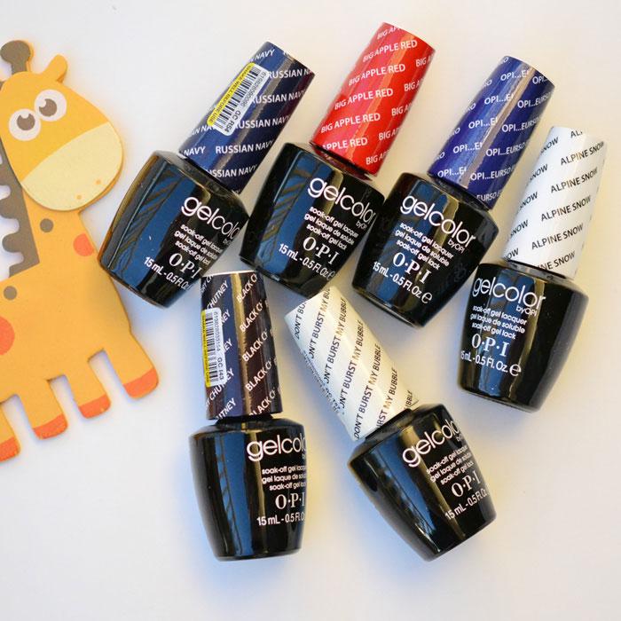 Στις ΗΠΑ η OPI νυχιών κόλλα τζελ αποσπώμενα Gelcolor Μπάρμπι κόλλα νύχια κόλλα σειρά