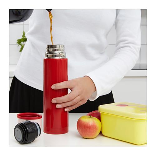 IKEAイケアハル萨钢制保温瓶ステンレスマグ保温ポットバキュームカップ包郵