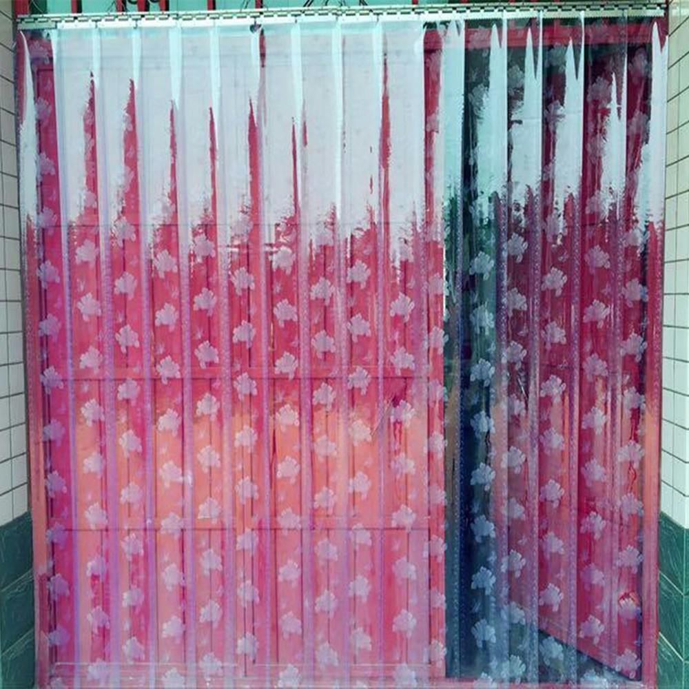 Curtain rubber partition, PVC door curtain, winter market restaurant, insulation air conditioner hanging curtain, plastic household thickening facade