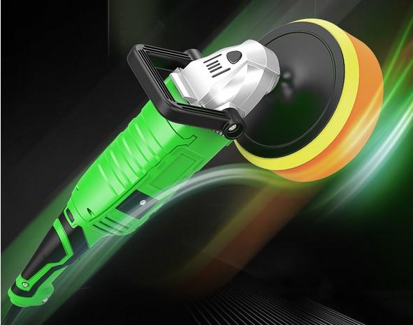 รถยนต์ไฟฟ้าทำความสะอาดแปรงขนหินโฟมแบบพกพาเครื่องเคลือบพื้นด้วยเครื่องขัดกระดาษทรายในไต้หวัน