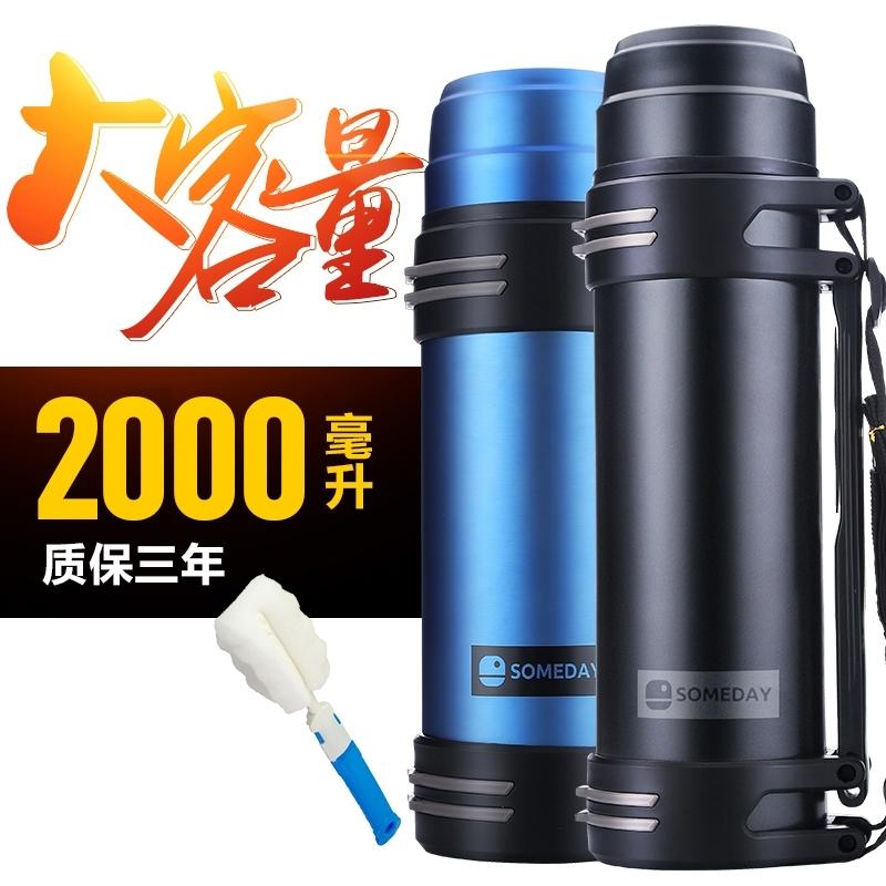 Caneca do vácuo do aço inoxidável garrafa térmica garrafa cantil portátil de Turismo e Esporte.