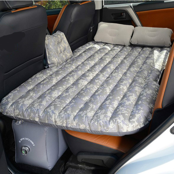 The car carrying the car SUV car rear inflatable mattress bed general flocking cloth self driving travel in Oxford