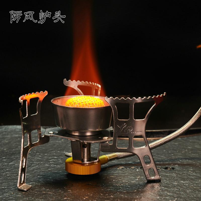 открытый огонь голову лесополоса двухкамерных печи плита кемпинг посуда полевых пикник газа пара печь печь портативный оборудования