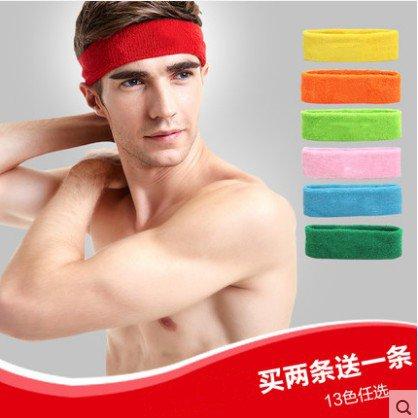 Das Frauen haare schweiß waschen MIT Schutz für Frauen und der Männer - tennis - sport - und fitness - stirnband sparsamkeit einfarbig.