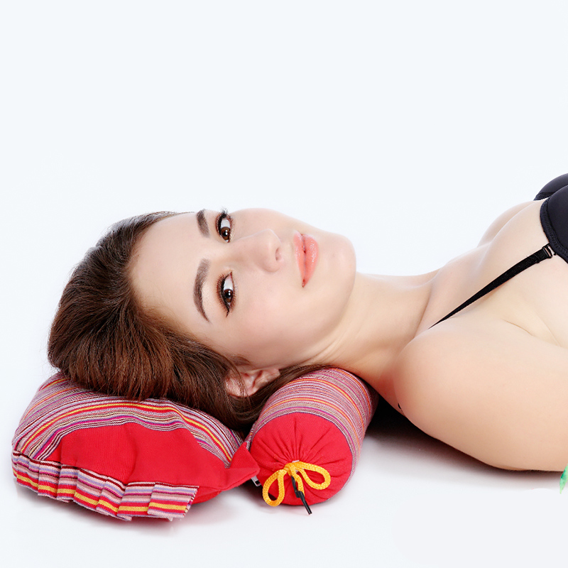 Special pillow for warm neck stretching of cassia seed pillow, cervical vertebra pillow and heating pillow