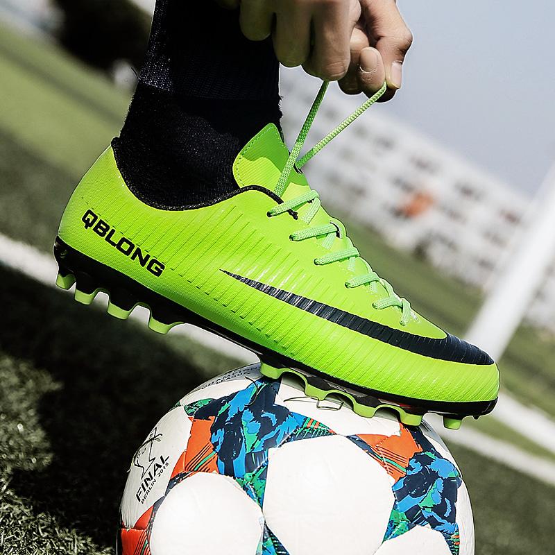 足球鞋男碎钉人造草地AG长钉TF短钉学生训练鞋儿童足球鞋成人女