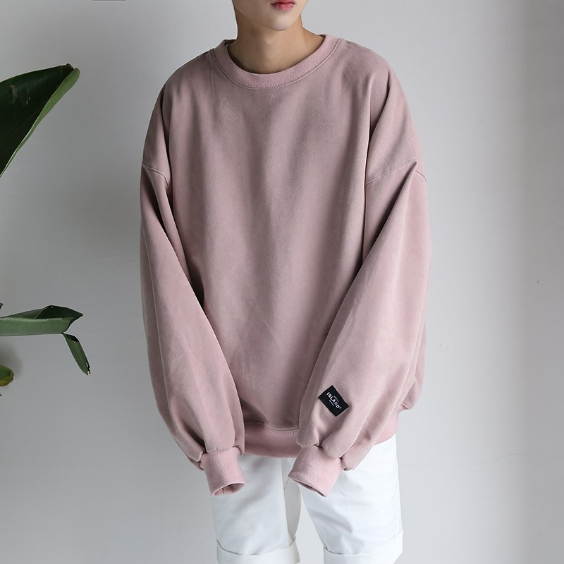 Hanska autumn winter edition T-shirt long sleeved sport SWEATER MENS set loose head tide male students