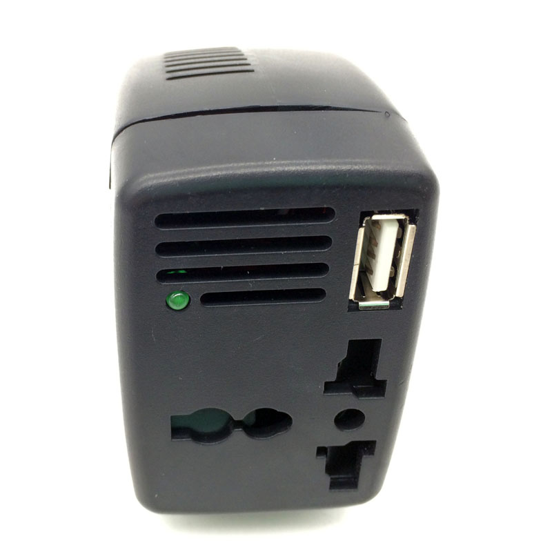 Véhicule automobile 150W inverseur de convertisseurs de puissance à 220V 110v / 12V domestiques Bao un amplificateur de tension de coupure de courant