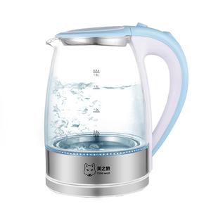 烧水壶家用玻璃电热水壶大容量自动断电开水壶304不锈钢快电茶壶