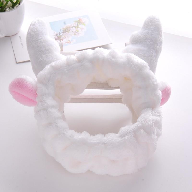 Das haar samt ohren MIT kaninchen - maske der Turban, der kopf der band, schmuck, make - up -