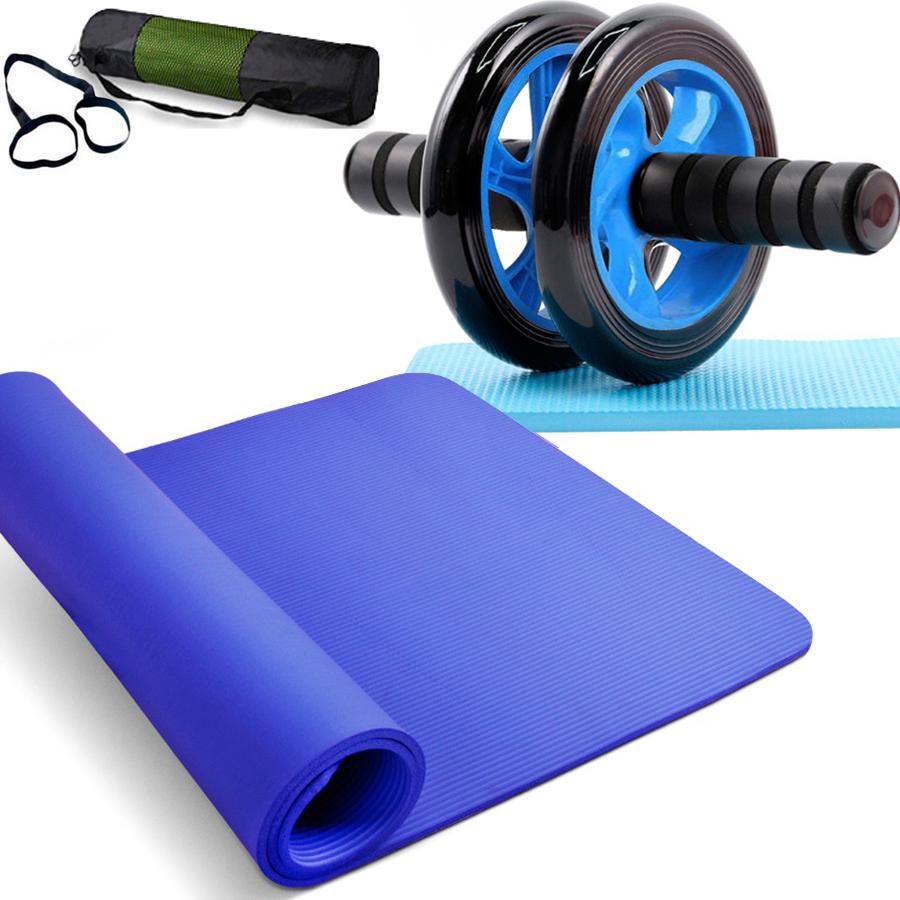 Mute antisdruciolo Jianbu riabilitazione Addominale Lun Lun movimento delle ruote puleggia addome ruota casa Xia Man attrezzature per il fitness vita uomini e donne