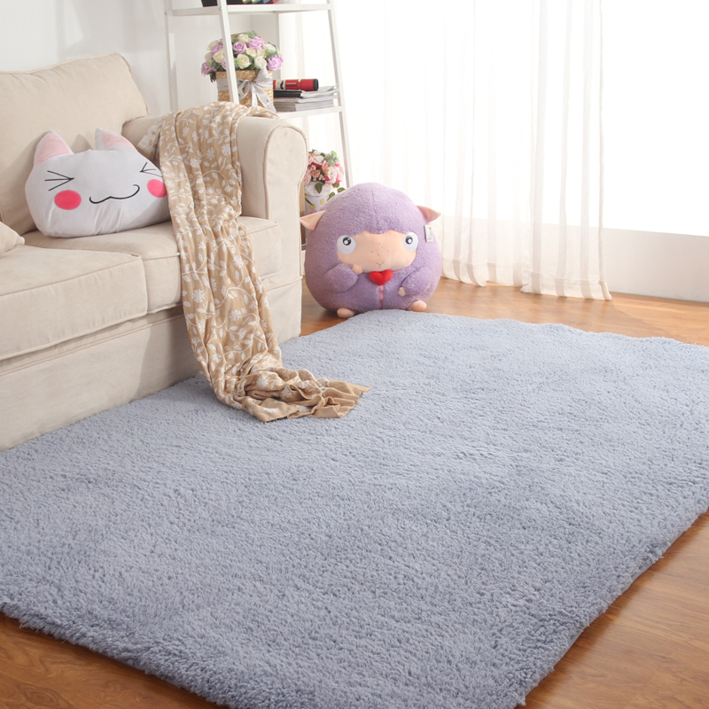 Tatami bed pad can be customized in winter cashmere blanket blanket carpet in the living room coffee table
