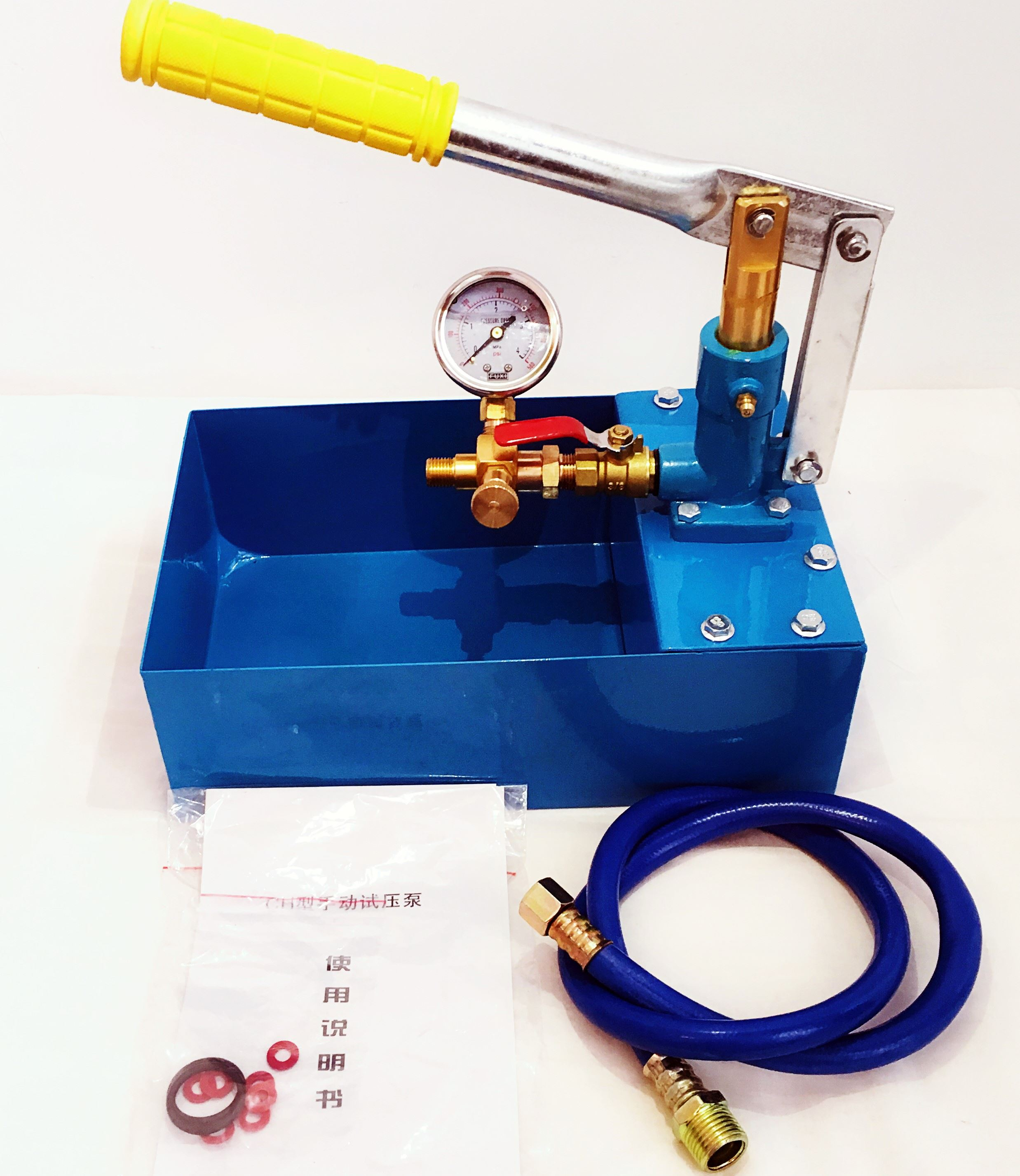 Pressure pump test pressure pump PPR pipe water pressure test pressure test pressure pump ground heating leak detector manual