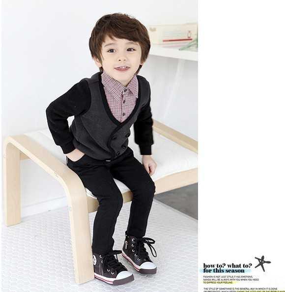 儿童假发可爱boy韩版男童宝宝小学生假发蓬松男士假发套短发
